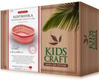 Набор для плетения «KidsCraft» «Корзинка» № 6, овал, большой, 17х26 см.