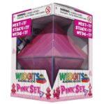 Конструктор WEDGiTS Pink Set (15 деталей + подставка)