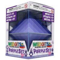 Конструктор WEDGiTS Purple Set (15 деталей + подставка)