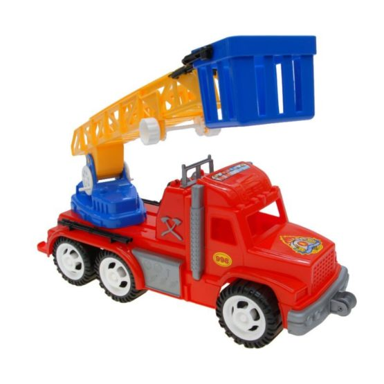 Детский автомобиль «Профи» (Пожарная машина)