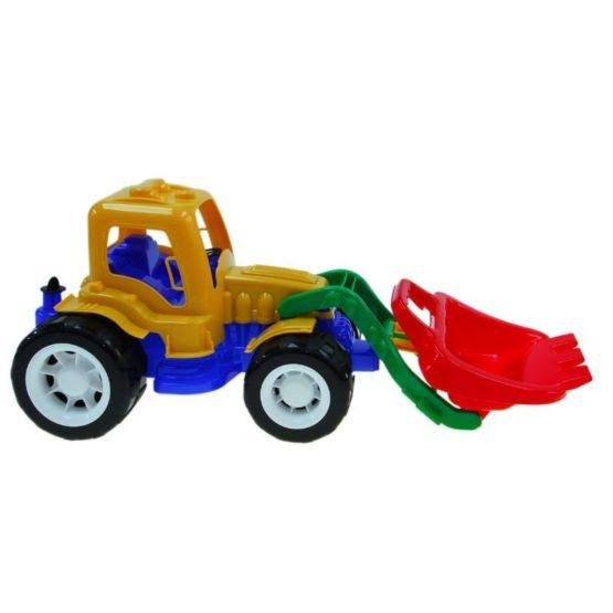 Трактор «Трудяга» с ковшом