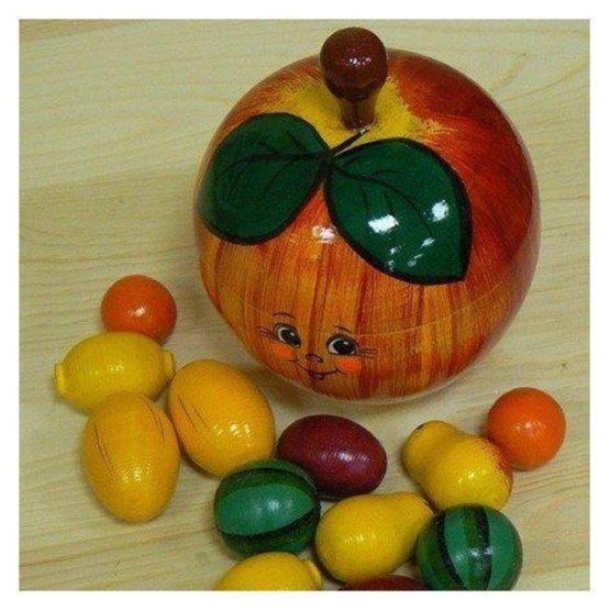 Счетный материал «В яблоке»