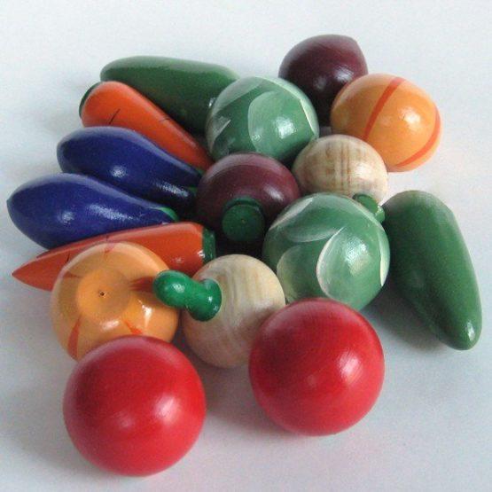 Счетный материал «Овощи» морковка/помидор/огурец 10шт. (РНИ)