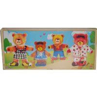 игра-пазл «Четыре медведя» 32*14*4 см