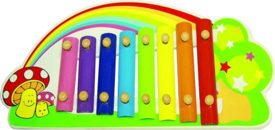 Ксилофон «Радуга» 35,5*16,5*5,5