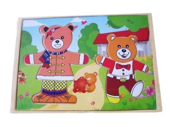 Игра «Два медведя» 14*20*3,5