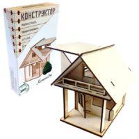 Деревянный конструктор «Коттедж»