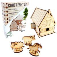 Деревянный конструктор «Ферма»