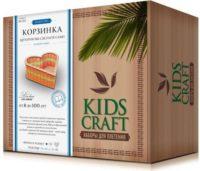 Набор для плетения «KidsCraft» «Корзинка» № 13, сердце, малый, 16х16 см.