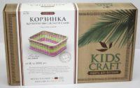 Набор для плетения «KidsCraft» «Корзинка» № 11, прямоугольник, средний, 16х22 см.