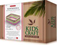 Набор для плетения «KidsCraft» «Корзинка» № 12, прямоугольник, большой,  18х22 см.