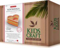 Набор для плетения «KidsCraft» «Корзинка» № 15, сердце, большой, 22х22 см.