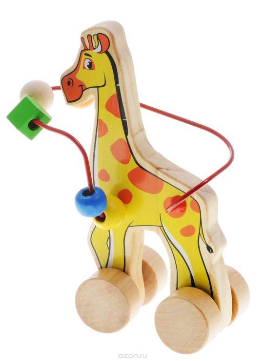 Лабиринт-каталка Жираф