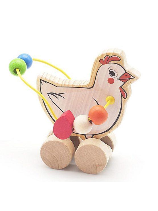 Лабиринт-каталка Курица