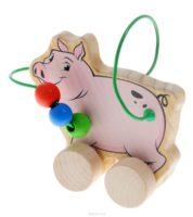 Лабиринт-каталка Свинья