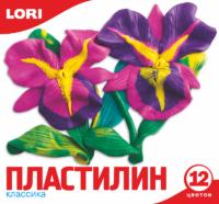 Пластилин Классика, 12 цветов
