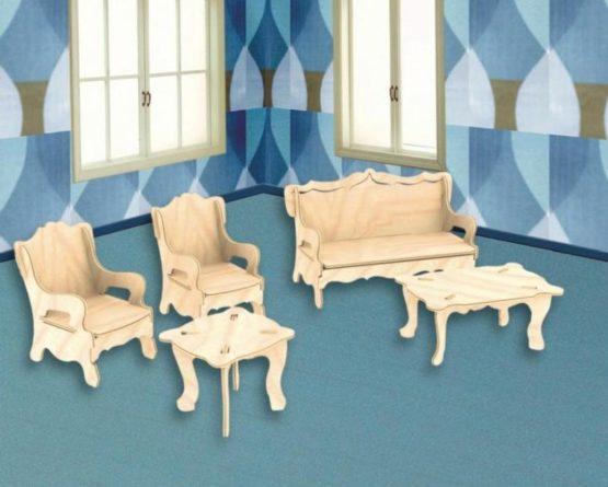 Сборная модель Мебель