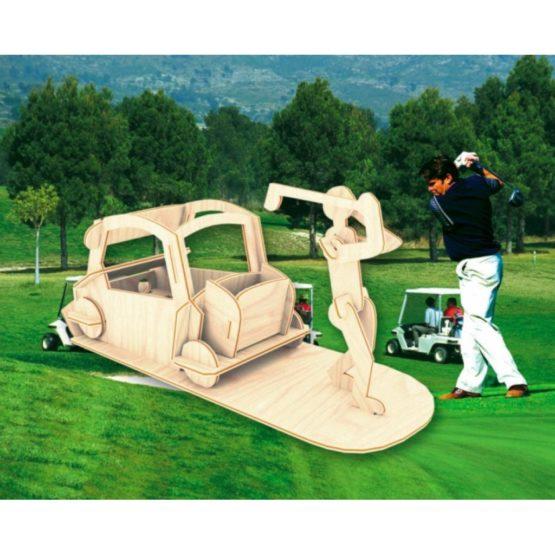 Сборная модель Игрок в гольф