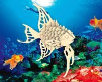 Сборная модель Ангельская рыбка