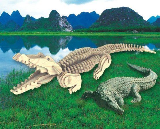 Сборная модель Крокодил