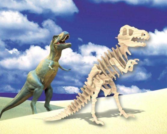 Сборная модель Тиранозавр малая