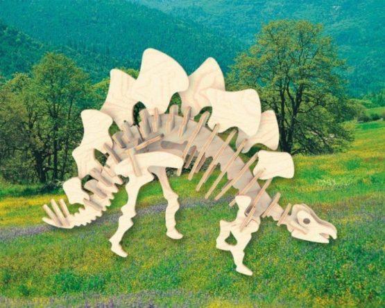 Сборная модель Стегозавр малая