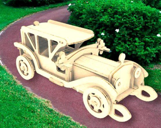 Сборная модель Ретроавтомобиль №5
