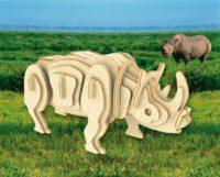 Сборная модель Белый носорог