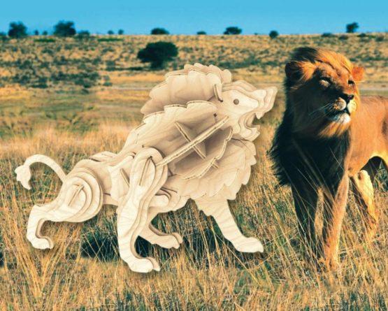 Сборная модель Маленький лев