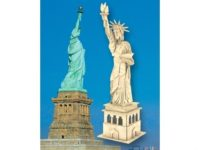 Сборная модель Статуя Свободы