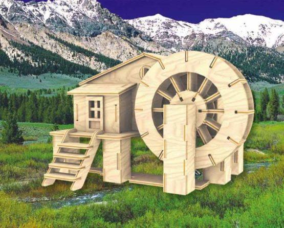 Сборная модель Водяная мельница