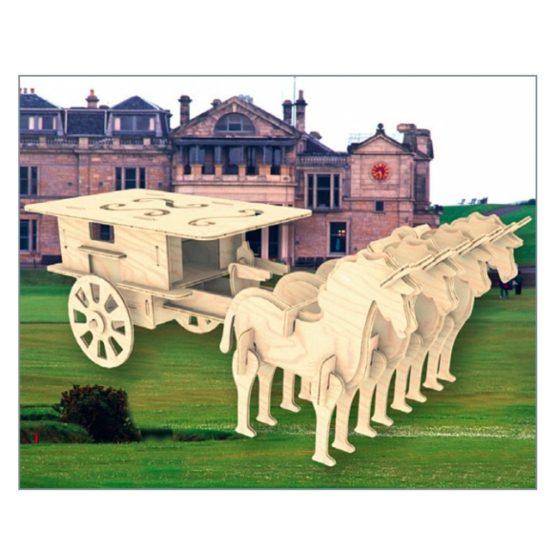 Сборная модель Закрытая колесница