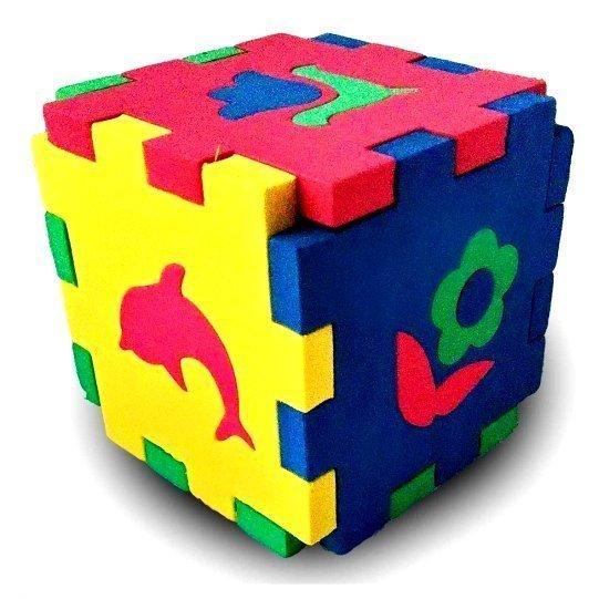 Кубик Мозаика Силуэты