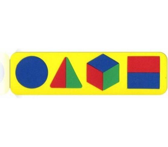 Вкладыш «Геометрические фигуры»
