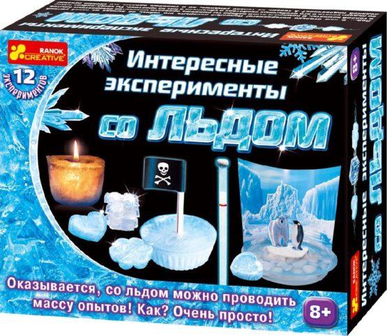Набор для экспериментов Интересные эксперименты со льдом