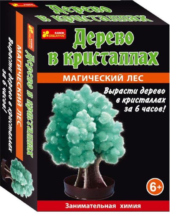 Набор для опытов «Дерево в кристаллах (зеленое)»