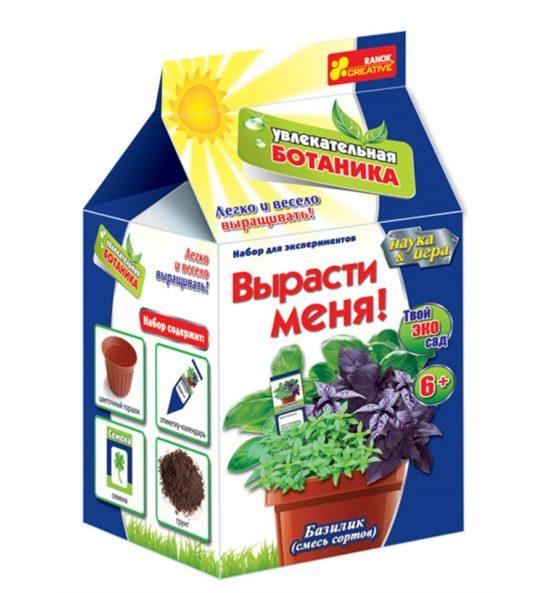 Базилик (Н) — Увлекательная ботаника. Вырасти меня