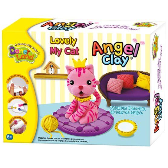 Игровой набор для творчества Angel Clay «Lovely My Cat»
