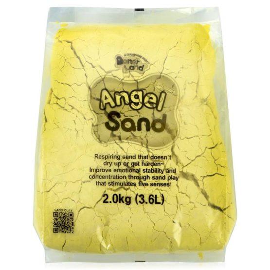 Песок для лепки  Жёлтый 3,6л