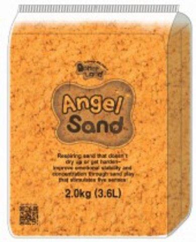 Песок для лепки  Оранжевый 3,6л