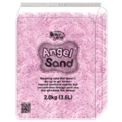 Песок для лепки  Розовый 3,6л