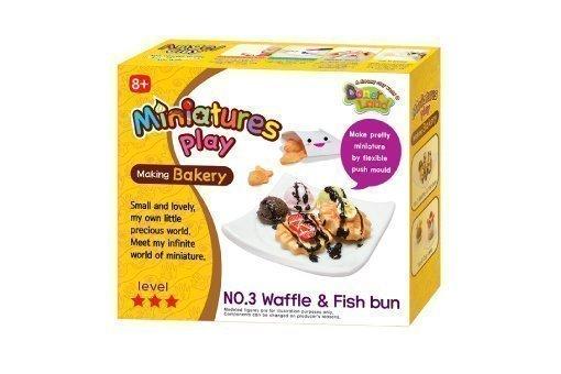 Набор для лепки  Waffle & Fish bun