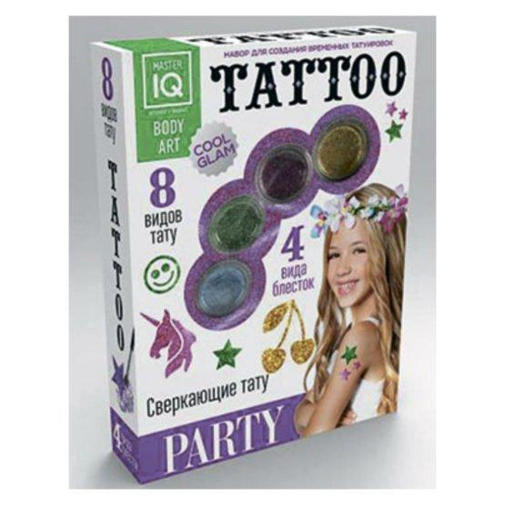 Набор для временных татуировок PARTY