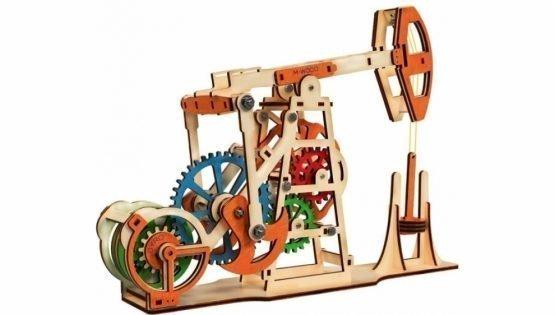 Конструктор 3D деревянный M-WOOD Нефтяная вышка