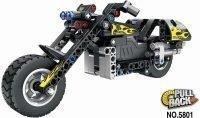 Конструктор QiHui Technics Мотоцикл инерция, 183 детали — QH5801