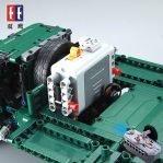 Радиоуправляемый конструктор с мотором Cada Technics Катюша — 2.4G