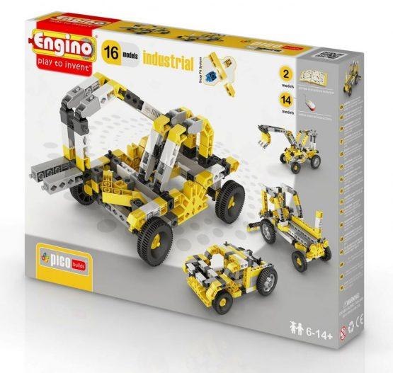 Конструктор Engino PICO BUILDS/INVENTOR Спецтехника — 16 моделей