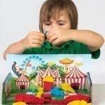 Тянущийся пластилин (масса для лепки) «Эластик «Candy land», ассорти, 360гр (сквуши)