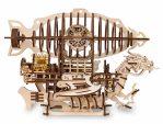 Конструктор деревянный 3D EWA Дирижабль Skylord