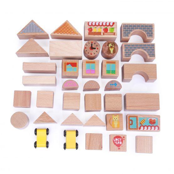 Кубики (большой  набор, 32шт)